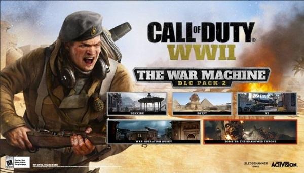 """全新战场 《使命召唤14》新DLC""""战争机器""""公布"""